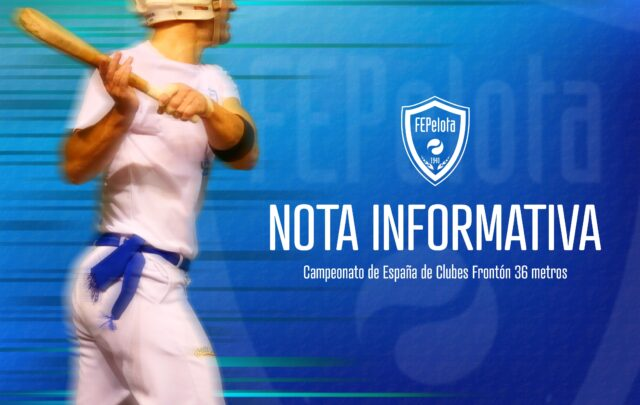 NOTA INFORMATIVA – Inicio competiciones 2021