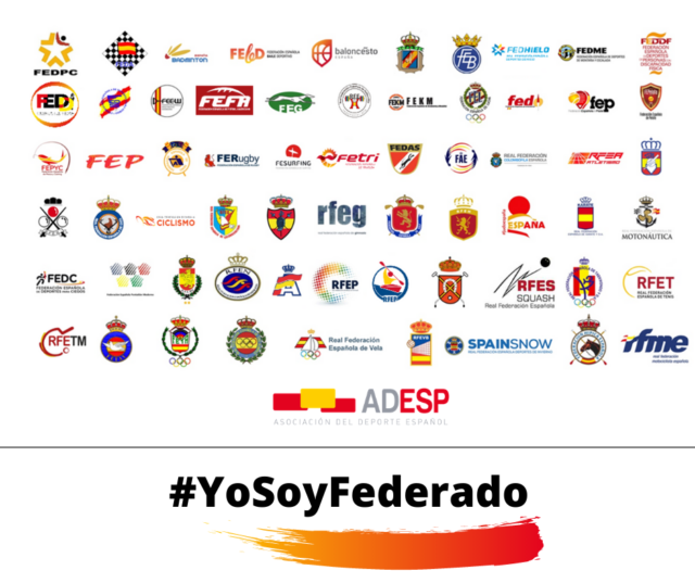 """Campaña """"Fedérate!» #YoSoyFederado"""