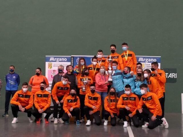 COMUNIDAD VALENCIANA campeona del federaciones juvenil en 30 metros