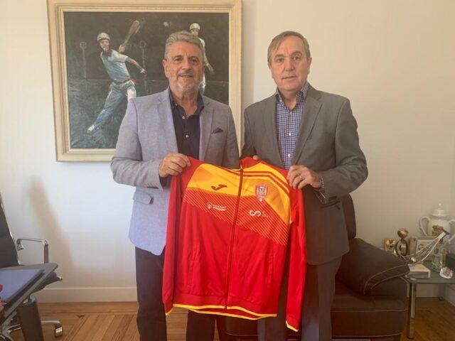 JOMA, nuevo patrocinador de la Federación Española de Pelota